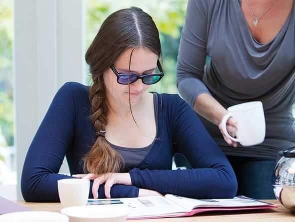 'Lezen was echt frustrerend  voor mij'
