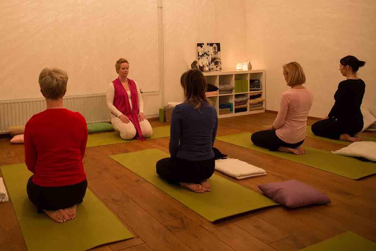 'Ontstressen' met Yoga