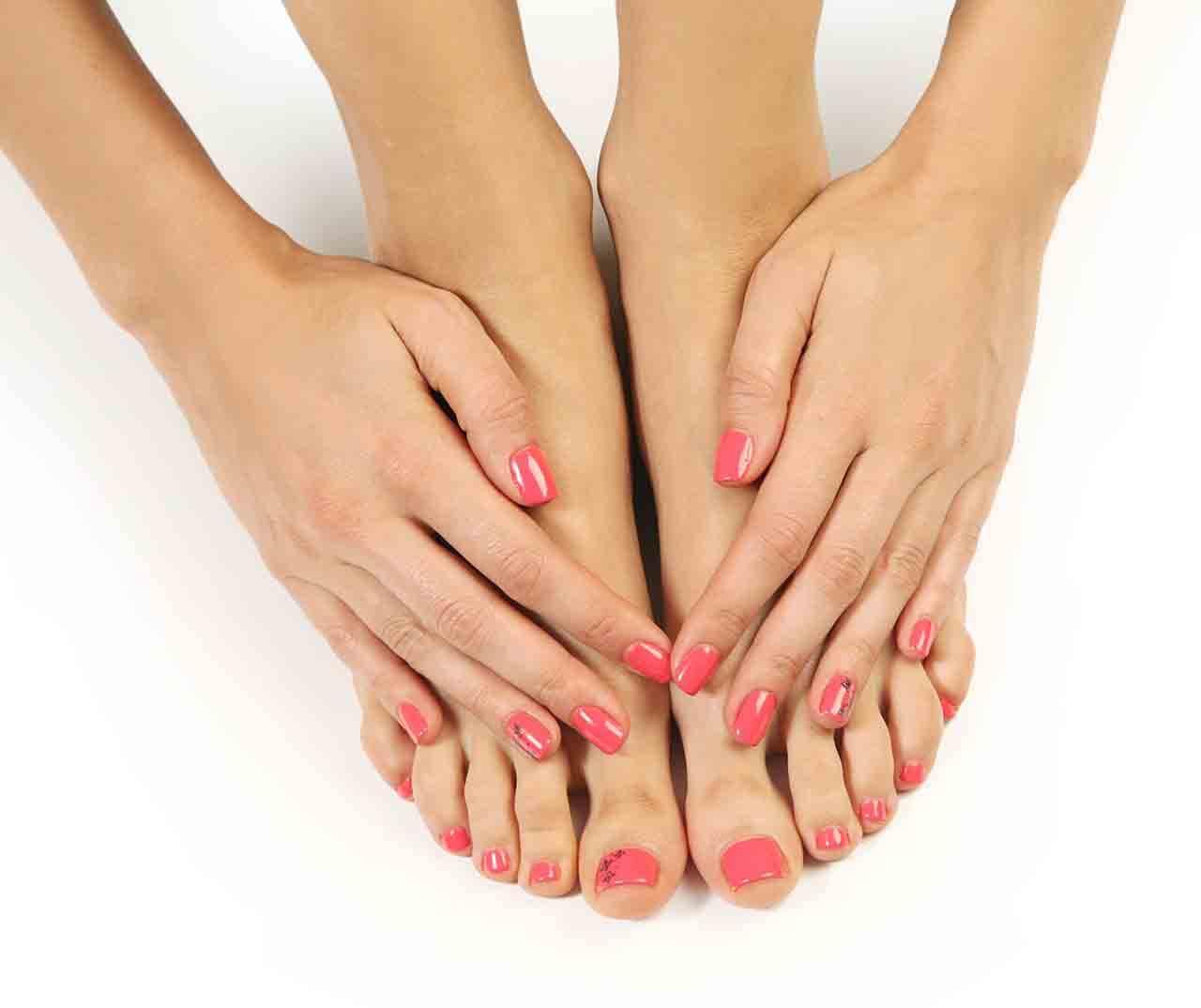 Verzorgde handen en voeten
