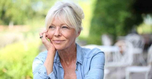 Gelukkig en tevreden oud worden