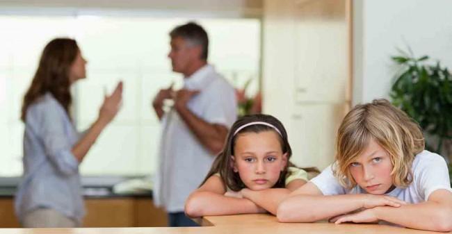 Kinderen en  echtscheiding