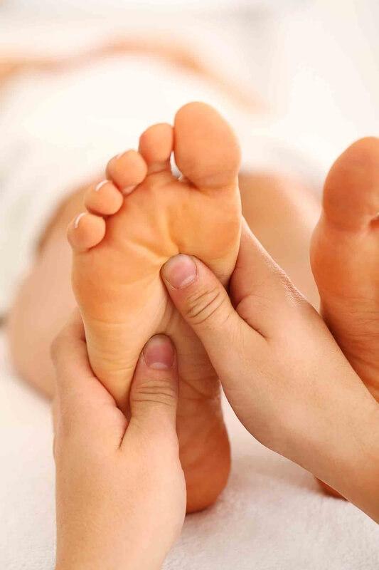 Voetreflexzonetherapie  bij overgangsklachten