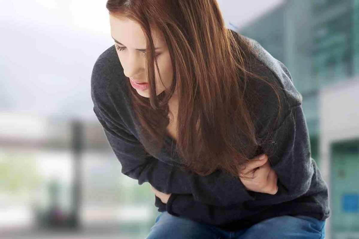 buikpijn na eten en diarree