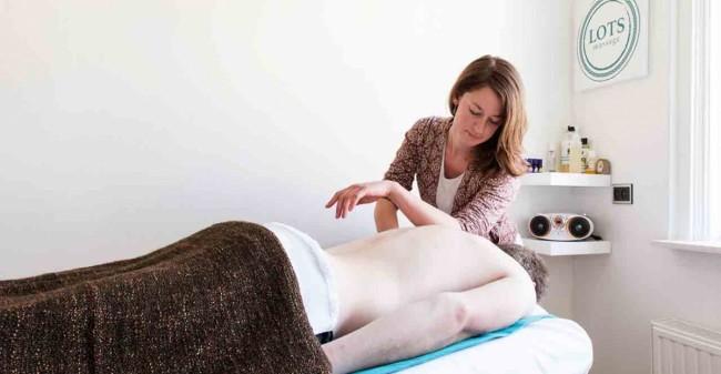 Laat spanning los met een massage!