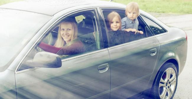'Weer achter het stuur van mijn eigen gezin'