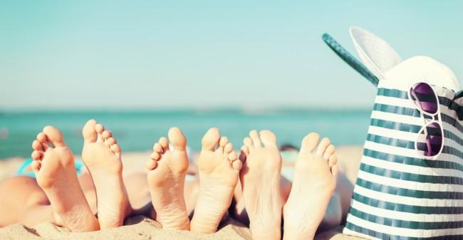Laat je voeten zomerklaar maken