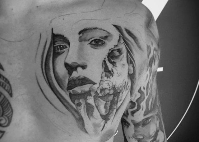 Een tatoeage als kunstwerk