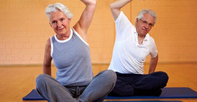 Yoga: juist ook voor ouderen