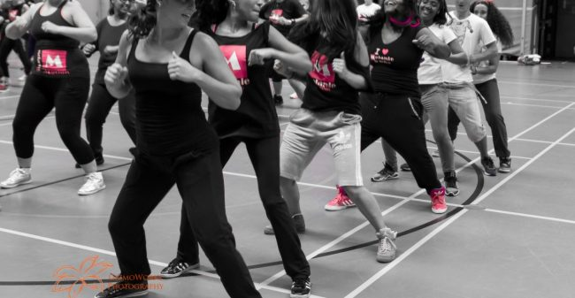 Be happy, feel good, na een powerles Zumba!