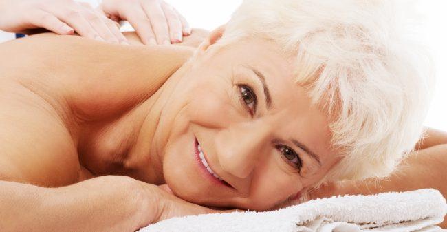 Massage ondersteunt en ontspant