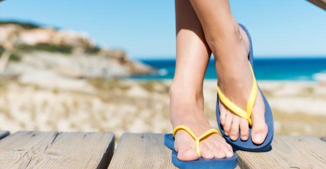 De risico's van slippers