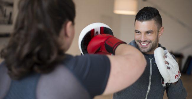 Personal training:  jouw stok achter de deur