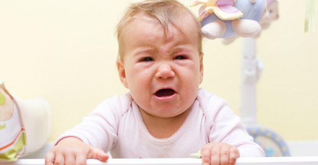 'Mijn baby huilt zoveel!'