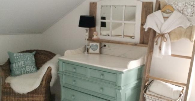 Een mooie babykamer: een zorg minder