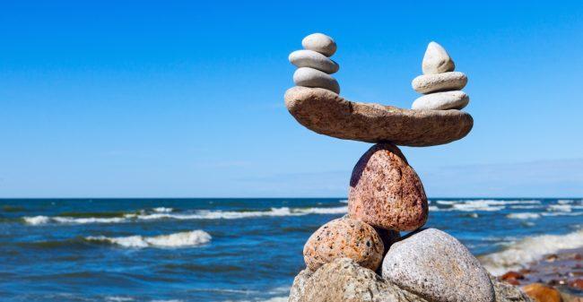 In balans met haptonomie