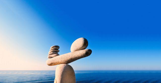 Balans tussen inspanning en ontspanning