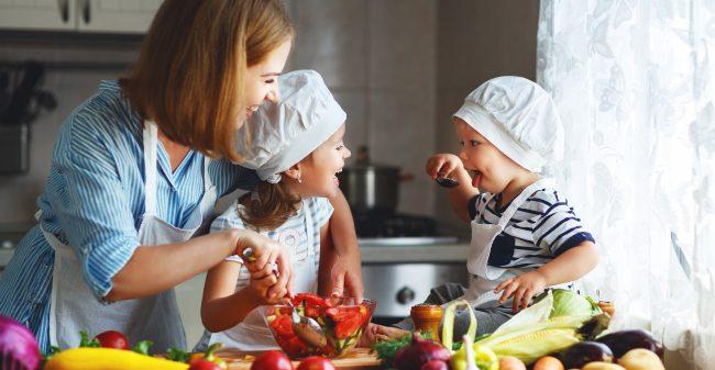 Gezond eten met het gezin!