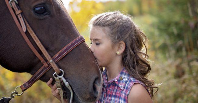 'Het gedrag dat het kind laat zien, wordt door het paard uitvergroot'
