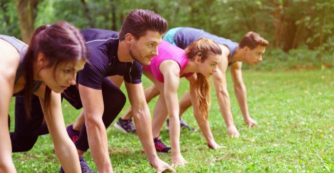 De natuur als fitnessruimte