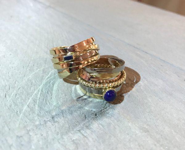 We wilden geen standaard ringen, maar echt iets bijzonders