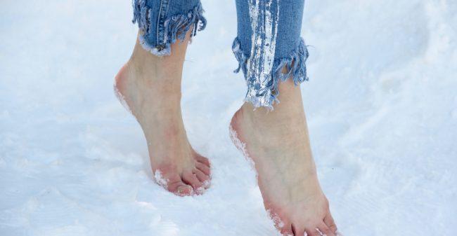 Wees lief voor je voeten