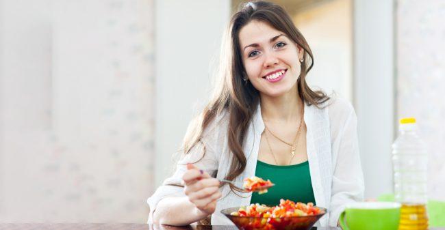 Eet bewust, juist bij stress