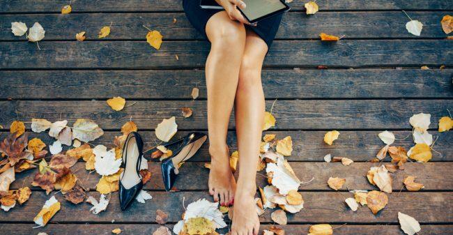 Gladde benen: júíst in de herfst!