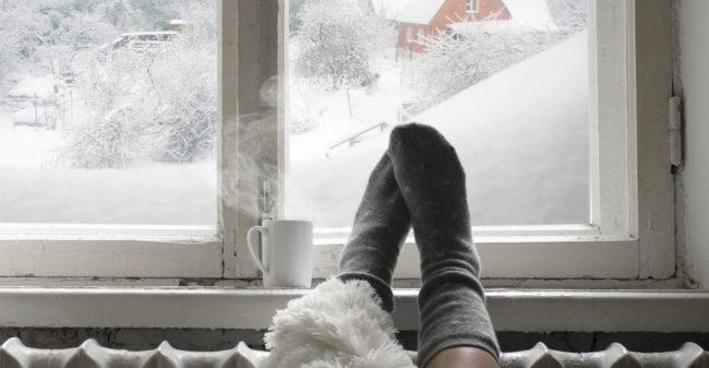 Help je voeten de winter door