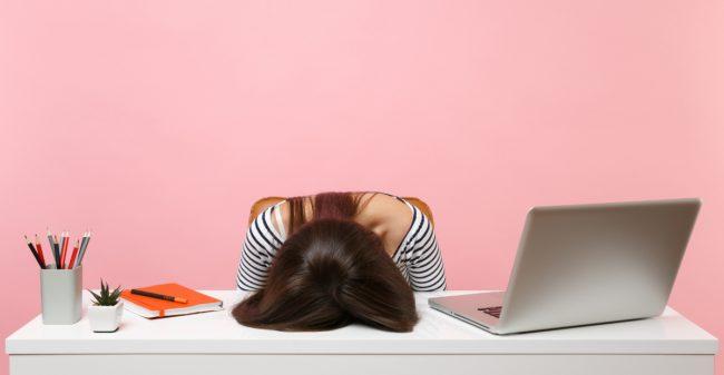 Problemen op school of op het werk?