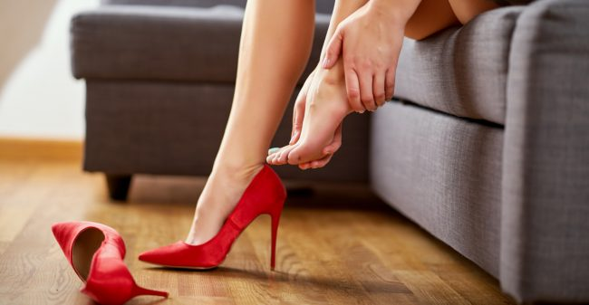 Blijf niet rondlopen met voetklachten